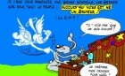 lapin bleu noel 2010